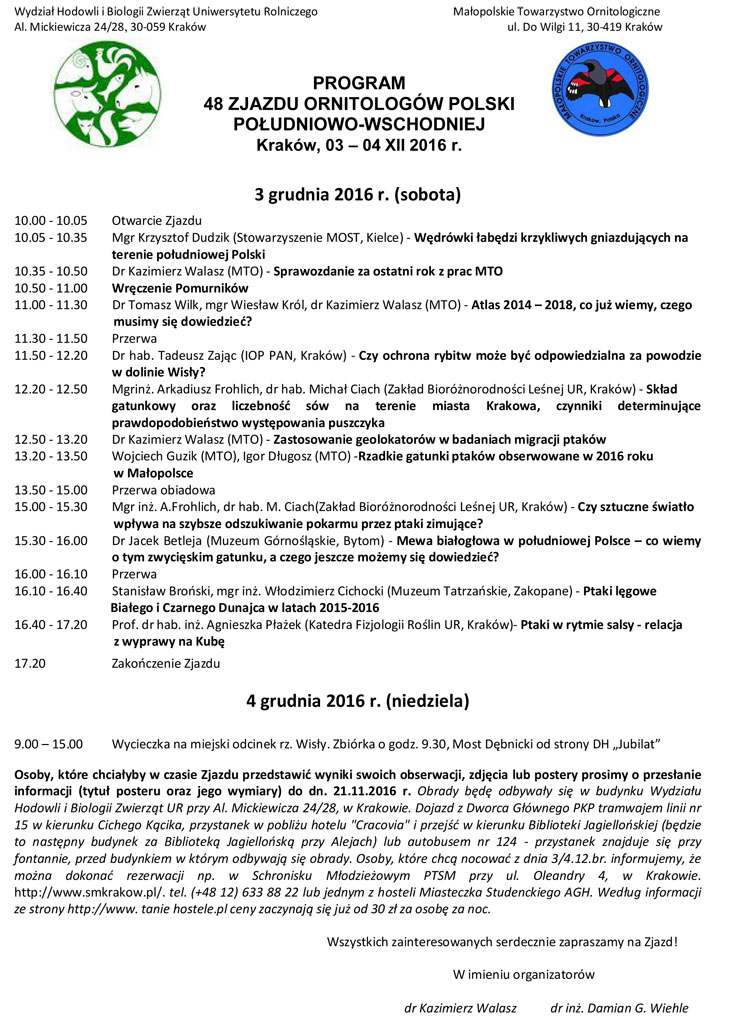 48 Zjazd MTO 161203 Program